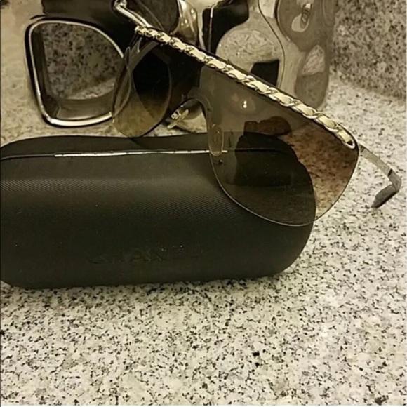 2152b5a86f CHANEL Accessories - Chanel Rimless Shield Sunglasses